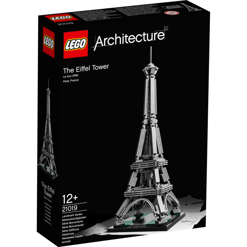 De lego architecture versie presenteert ã©ã©n van de beroemdste constructies aller tijden: de eiffeltoren! de ...