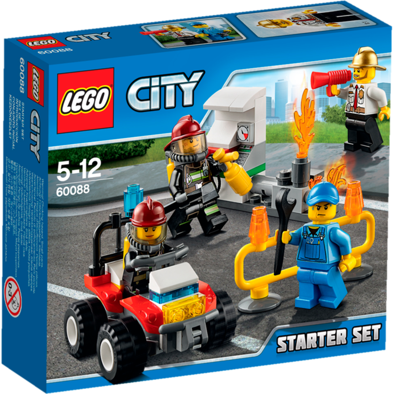 LEGO City Brandweer startset 60088