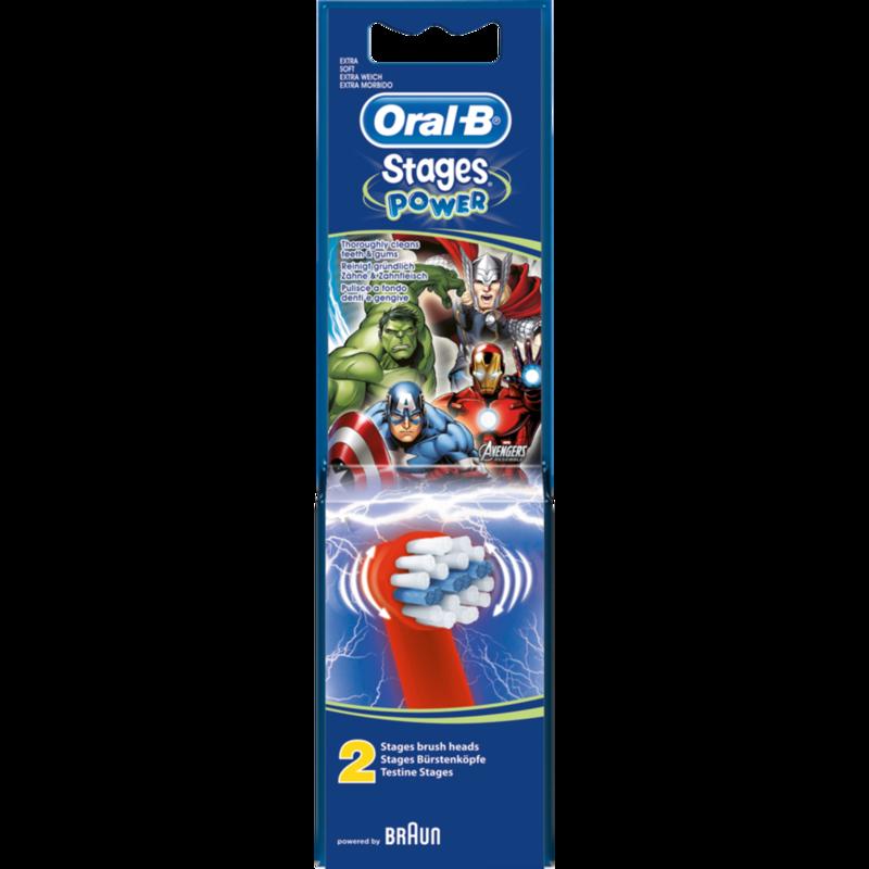 Braun oral-b opzetborstel avengers power