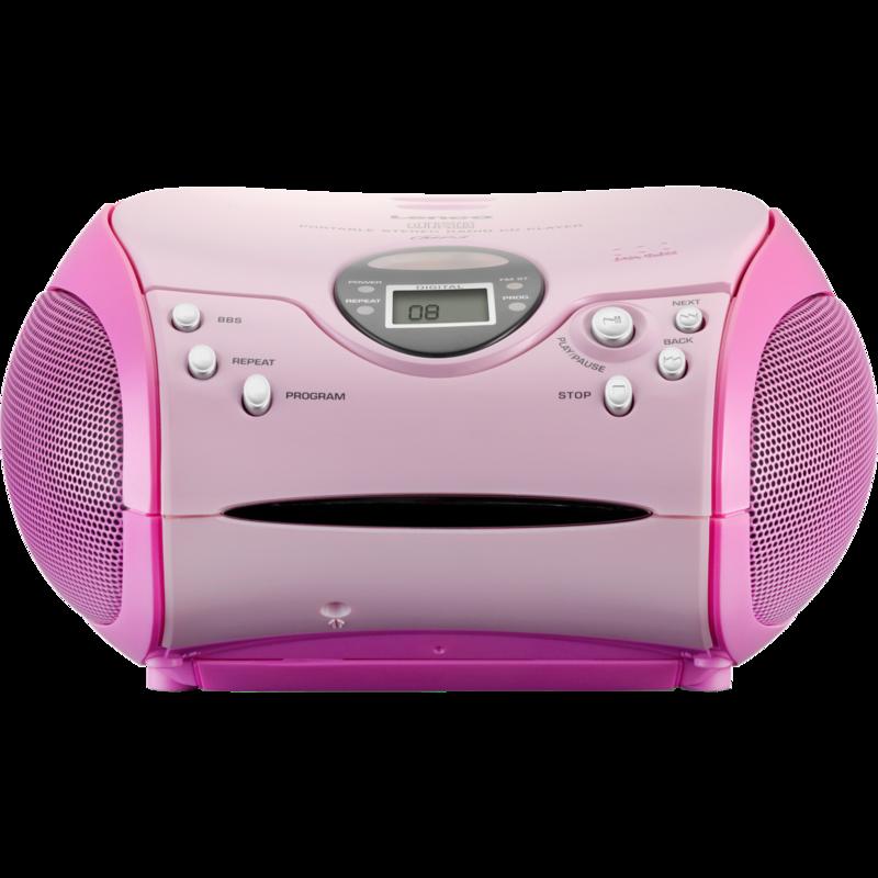 SCD-24 MP3 Roze