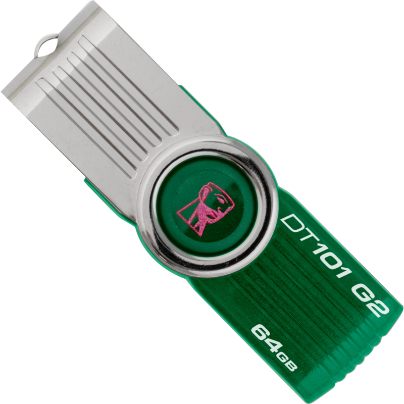 Kingston DataTraveler 101 G2 64GB Groen USB Stick