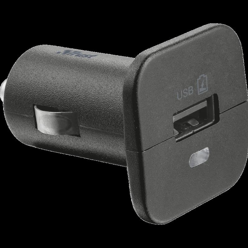Auto oplader met micro usb kabel voor het opladen van een samsung galaxy tablet of  smartphone