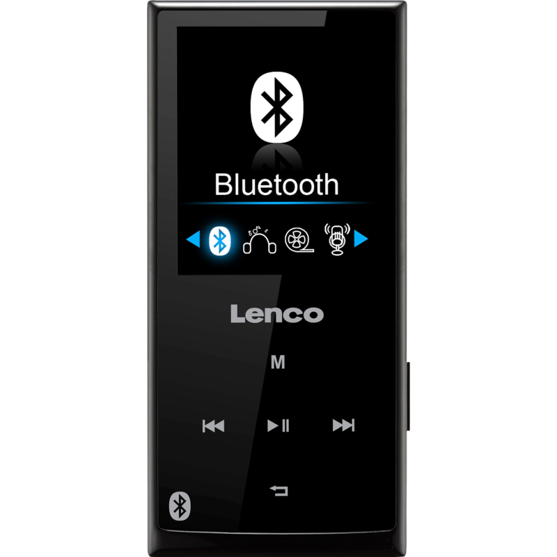 Lenco Xemio-760 BT MP3/MP4 speler met Bluetooth zwart