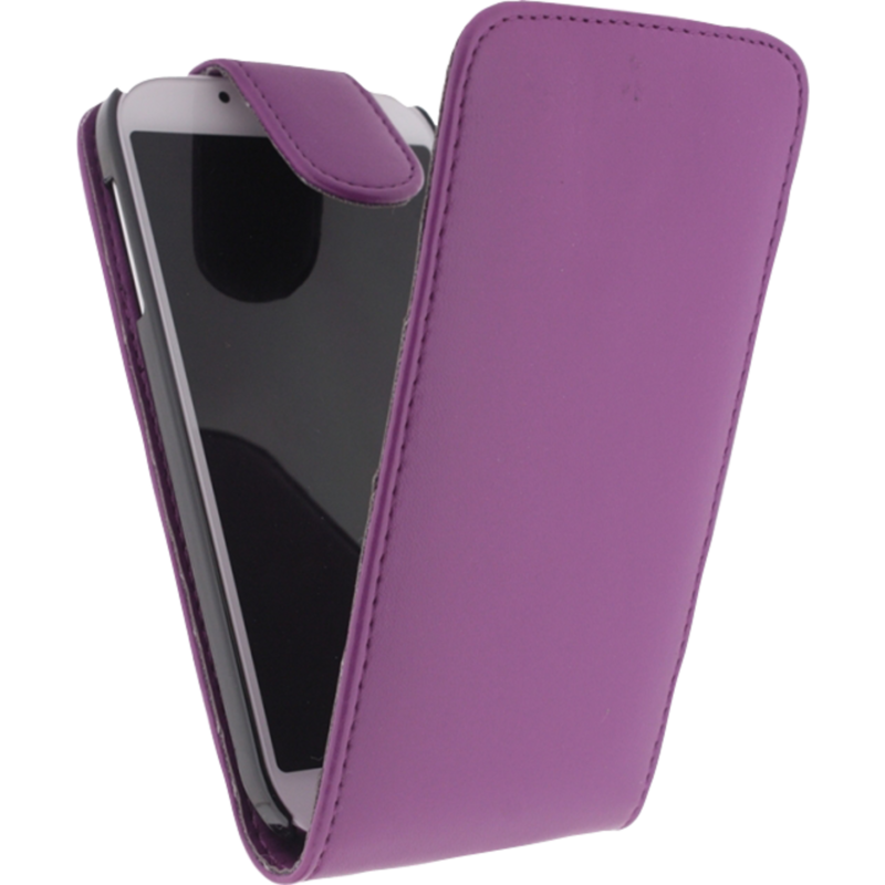 Met deze leather flip case beschermt u uw samsung galaxy s4 tegen vallen, stoten en krassen. tevens ziet de ...