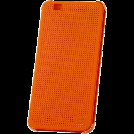 HTC Desire Eye Dot View Case Oranje