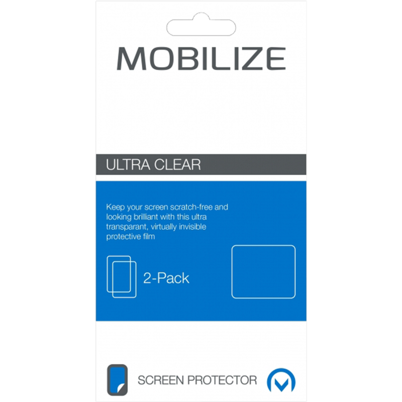 Mobilize Screenprotector Apple iPhone 5S Front/Back Duo Pack