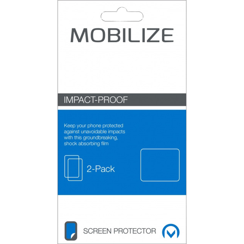 Mobilize Screenprotector Huawei Ascend P7 Impact Proof
