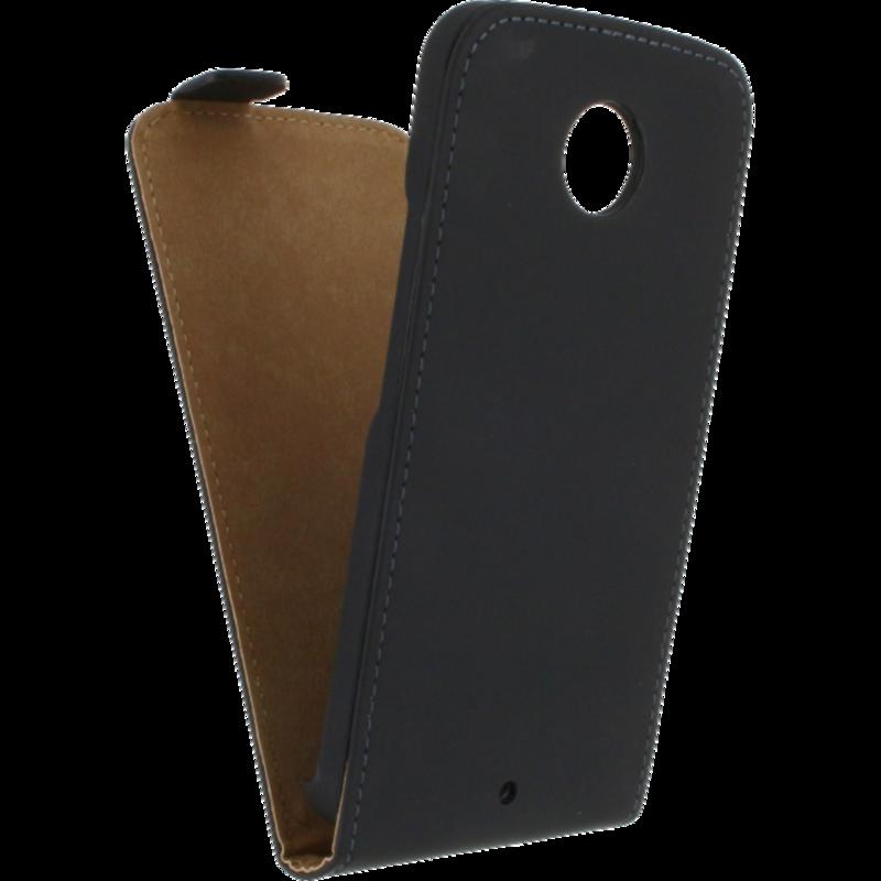 Mobilize Ultra Slim Flip Case Motorola Moto X 2014 Zwart