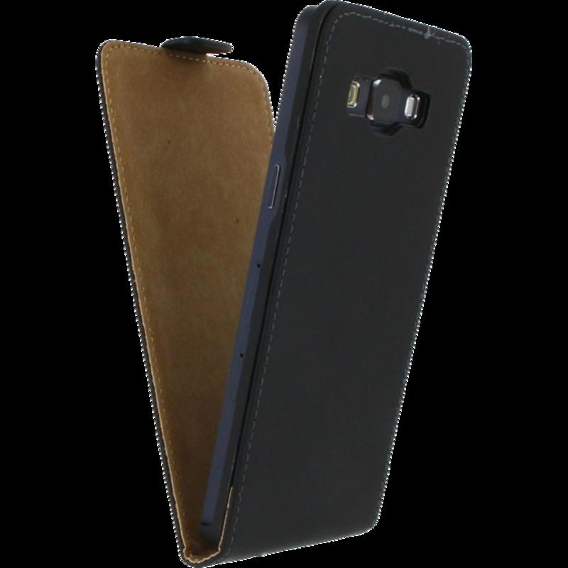 Mobilize Ultra Slim Flip Case Samsung Galaxy A5 Zwart