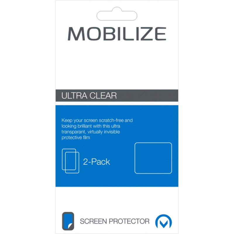 Mobilize Screenprotector Samsung Galaxy Alpha Duo Pack
