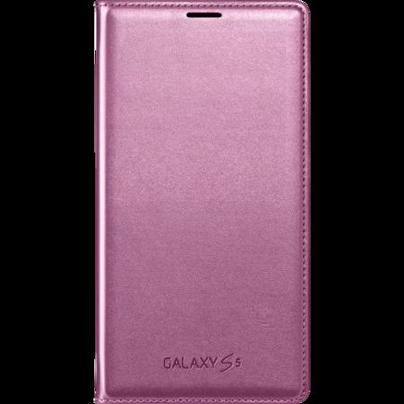 Galaxy S5 Flip Wallet Pink