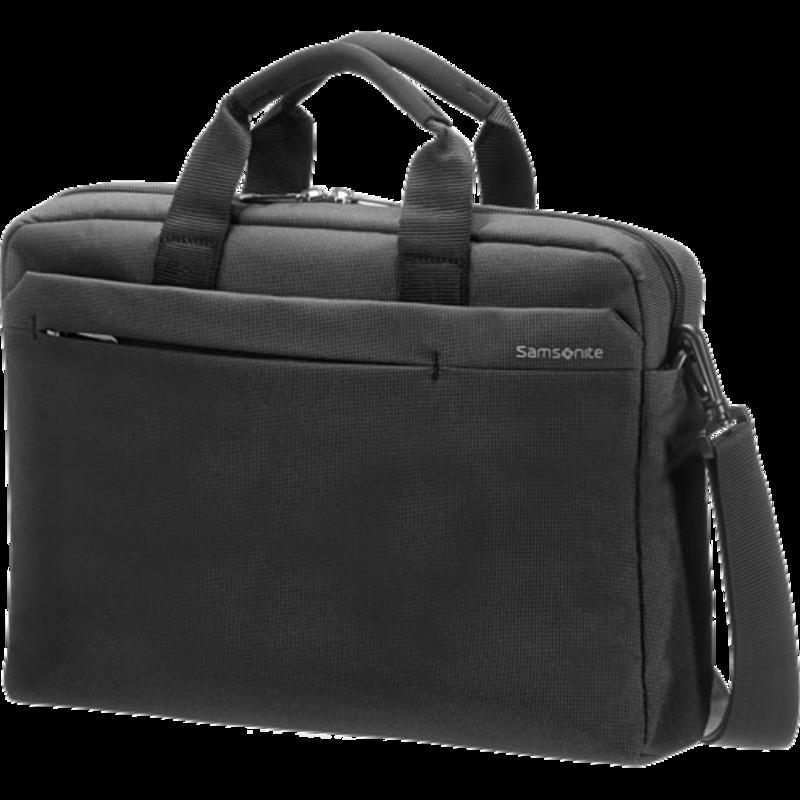 Samsonite Network 2 Laptop Bag 13-141 - Laptoptas - Charcoal