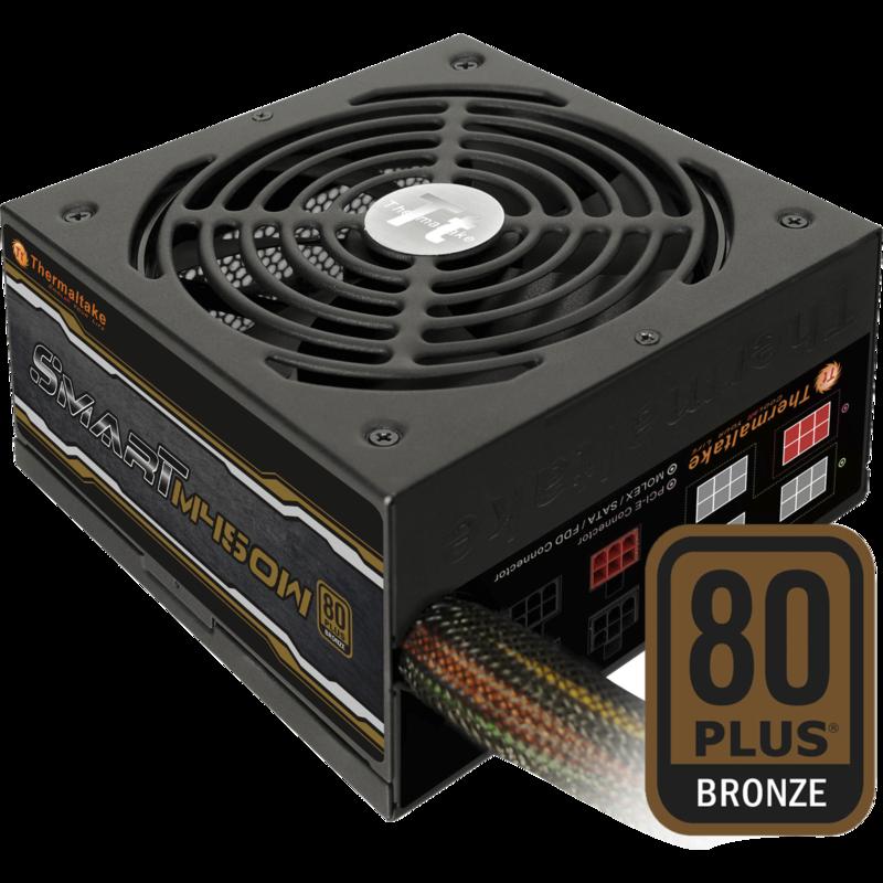 PSU SMART 450W /80plus Bronze /Cable Management /80PLUS Bronze /Flat low-profile modular cables /High quality Japanese capacitors / Ultra-quiet 14cm cooling Fan